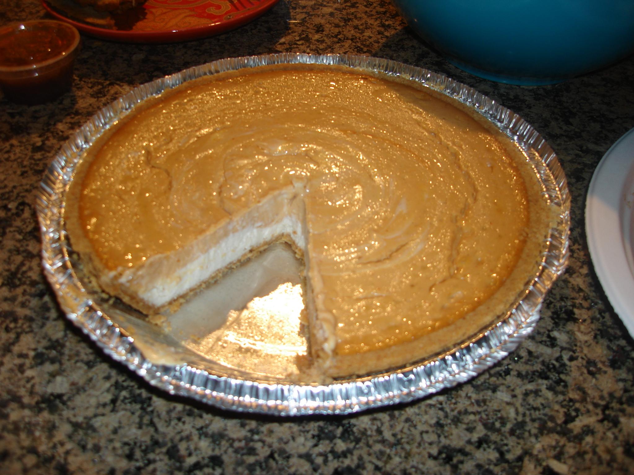 Double Layer Pumpkin Cheesecake Recipes — Dishmaps